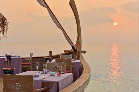 Premium Indulgence in Maldives for Honeymoon Couples at Milaidhoo
